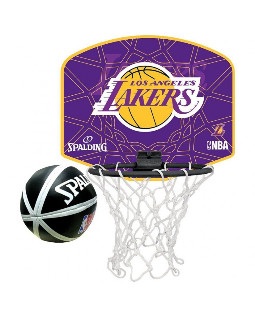 NBA TEAM LAKERS MINI-BACKBOARD