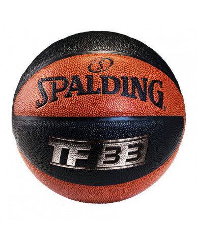 SPALDING TF-33 SILVER 10 PANEL COMPOSITE BALL