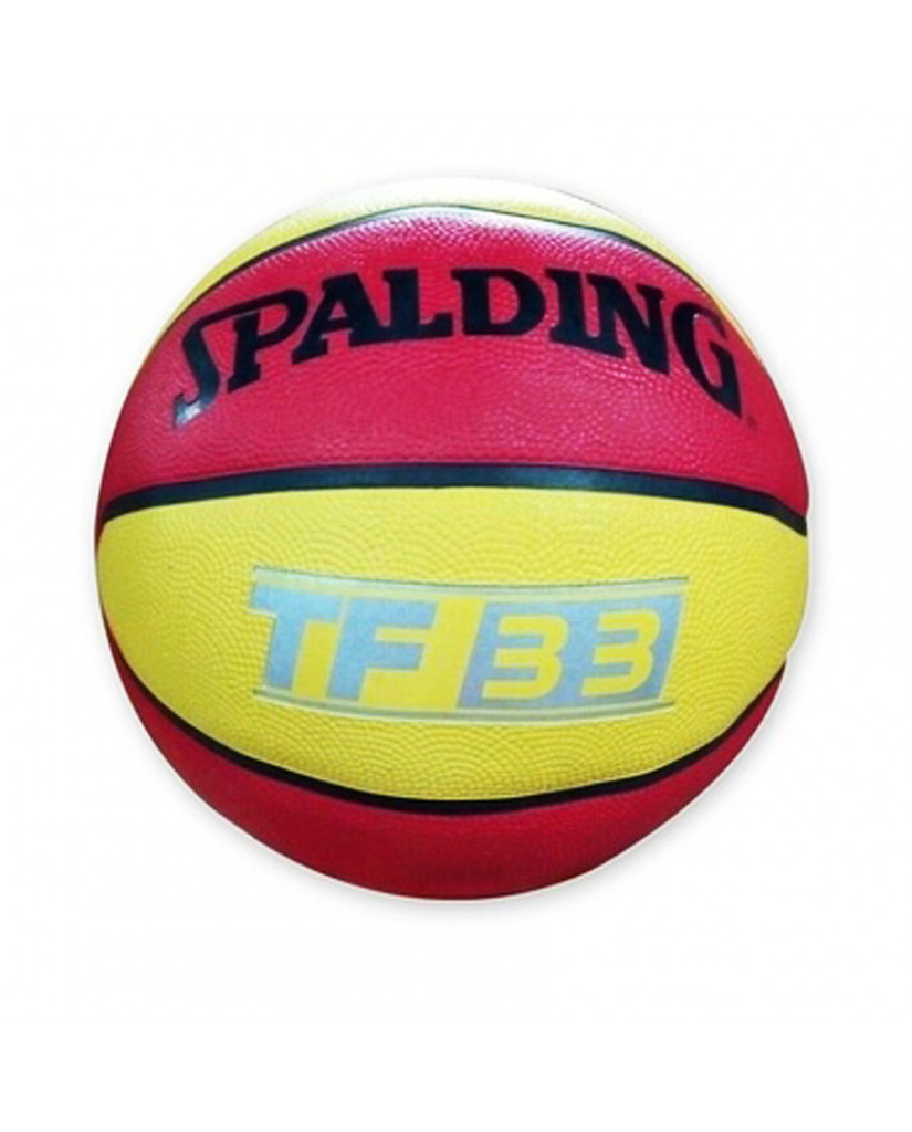 SPALDING TF-33 OUTDOOR (RED/YELLOW)